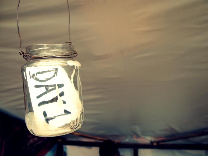 Day 1: Jar lanterns