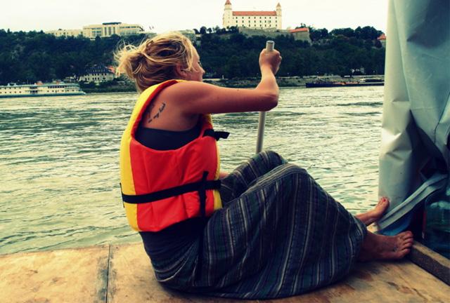 Rafting the Danube River