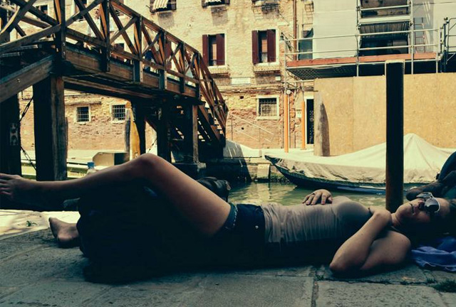 Sleeping in Venice