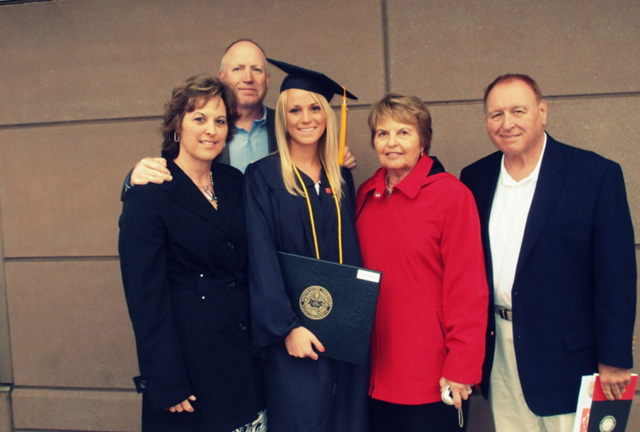 Graduation from Northeastern University