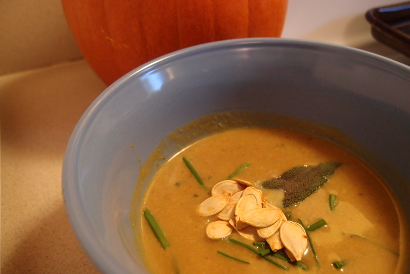 The perfect fall pumpkin soup