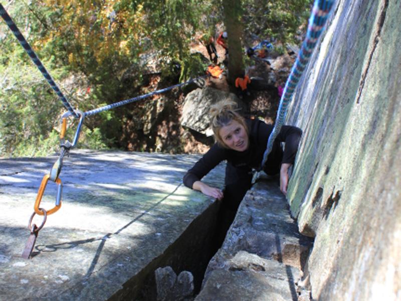 Rock Climbing in Romania