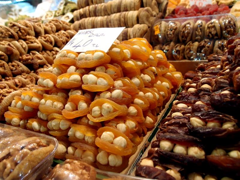 Dried Fruit and Hazelnuts