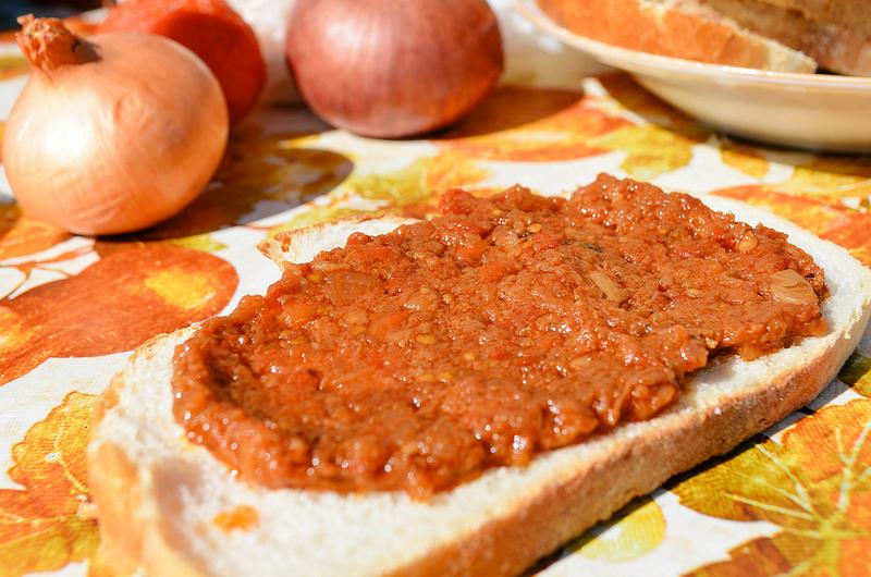 Romanian Zacuscă-vegetable spread