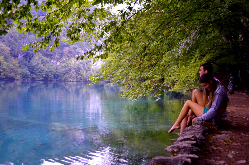 Magical Waters in Plitvice Lakes