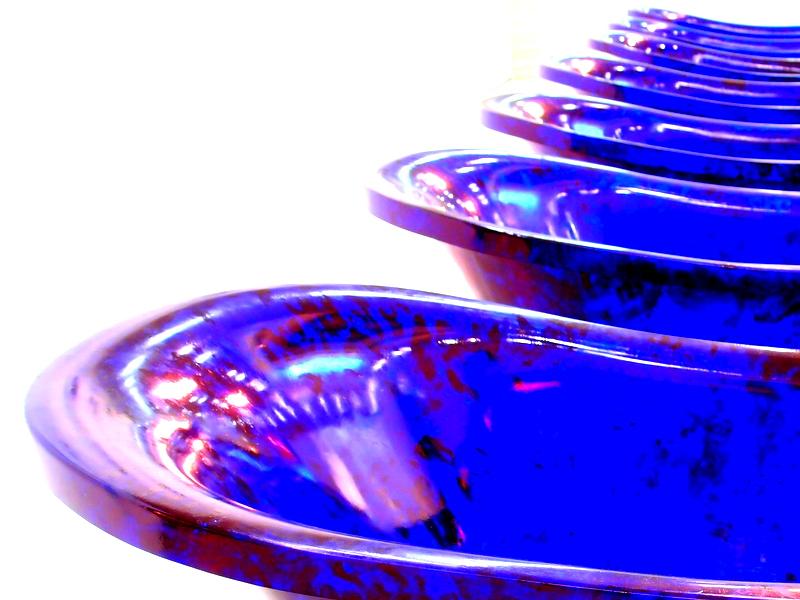 Jan Fabre's Blue Tubs
