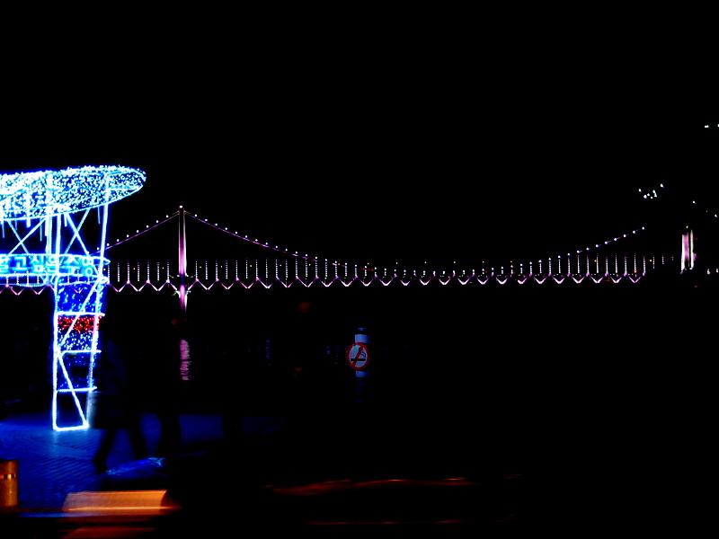 Gwangan Bridge from Gwangalli Beach