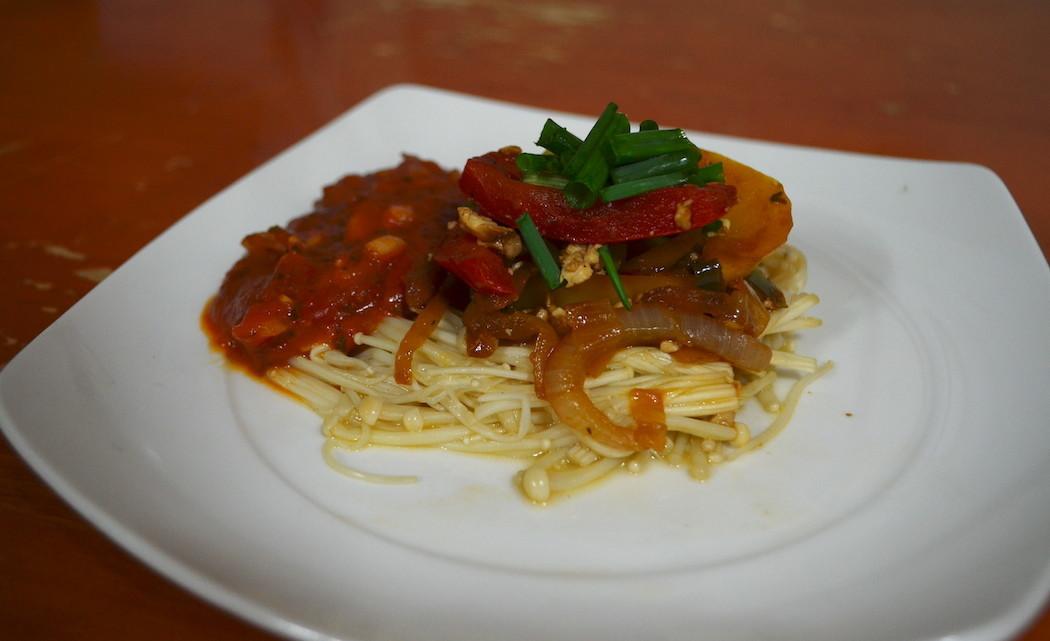 Mushroom Pasta Feature