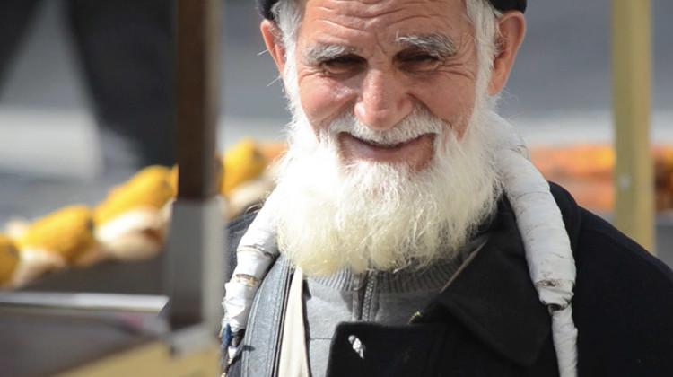 Old Turkish Man at Market