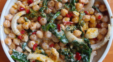 Chickpea and Yogurt Salad