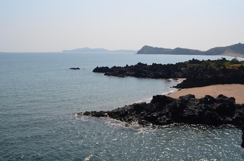 Coastal views signifying the end