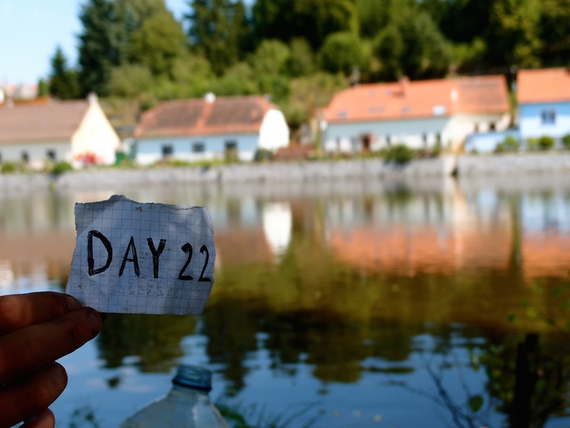 Day 22: Ponds in the middle of Czech towns