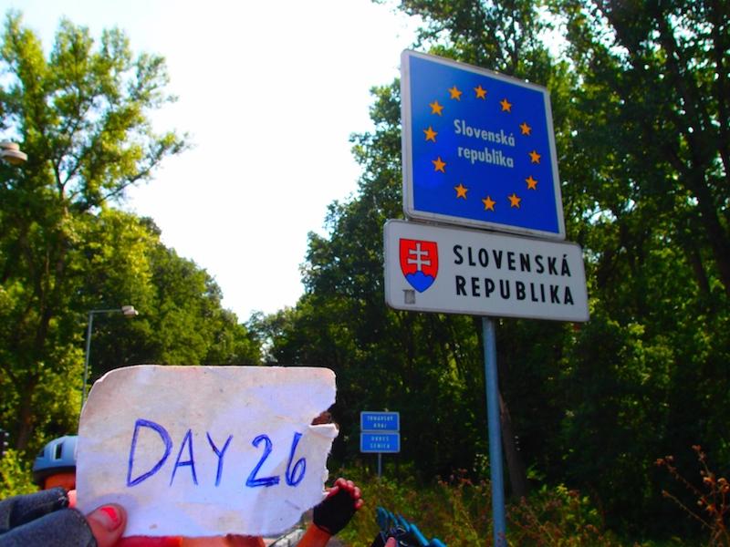 Day 26: Entering Slovakia