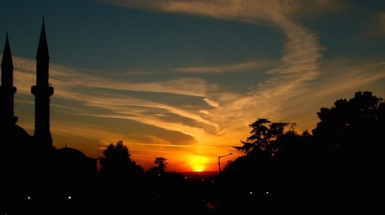 SunsetMosque