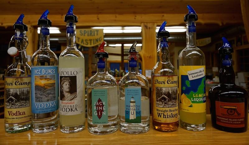 Taste four for free- Northern Latitudes Distillery