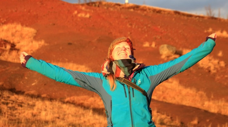 Excitable me in Iceland 2014